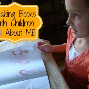 Making Books with Children :: All About Me