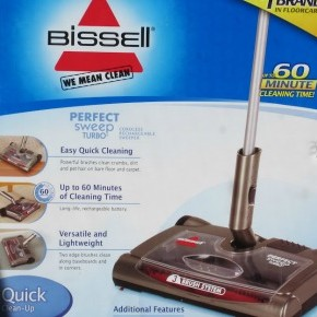 Bissell Perfect Sweep Turbo REVIEW
