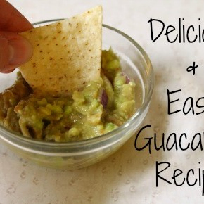 Delicious & Easy Guacamole Recipe