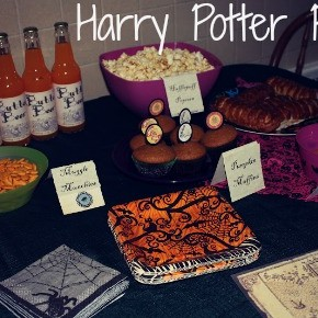 Family Movie Night :: Harry Potter Party