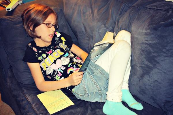 Peaceful Homework Ella