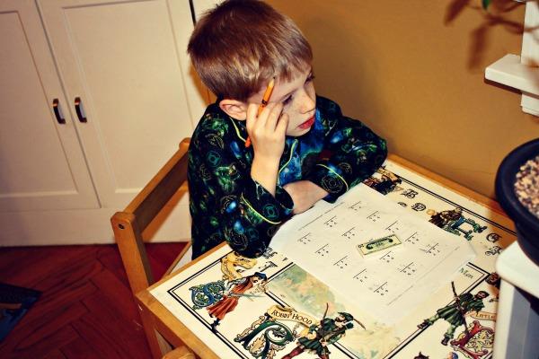 Peaceful Homework Max
