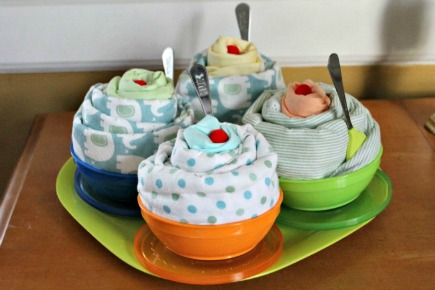 Ice Cream Sundae Baby Shower Gift