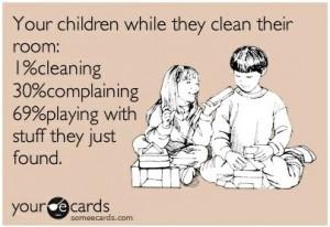 ChildrenCleaningECard