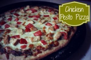 Chicken Pesto Pizza Top