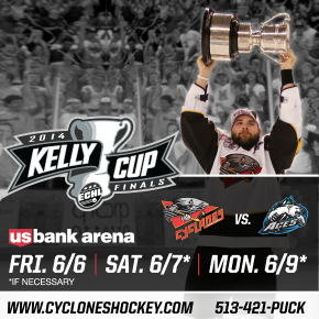 Cincinnati Cyclones Kelly Cup Playoffs Giveaway - CLOSED