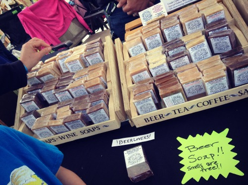 City Flea Beer Soap