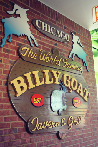 Navy Pier Billy Goat Tavern