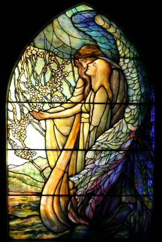 Smith Museum of Stained Glass Windows Angel