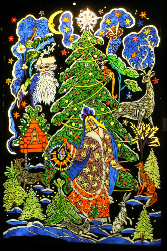 Smith Museum of Stained Glass Windows Christmas