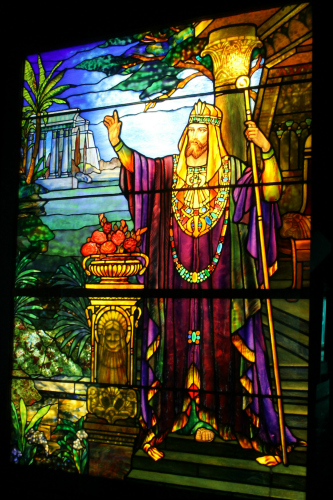 Smith Museum of Stained Glass Windows King Solomon