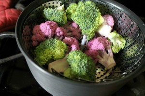 Broccoli + Purple Cauliflower