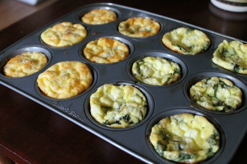 Mini Egg Frittatas Hot Out of the Oven
