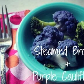 Steamed Broccoli & Cauliflower