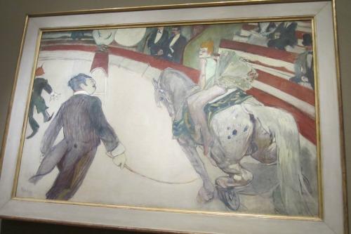 Equestrienne by  Henri de Toulouse-Lautrec