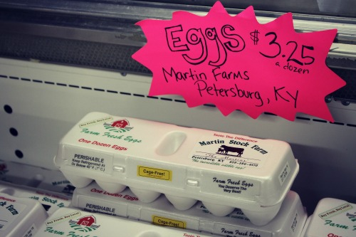 Friendly Market Eggs