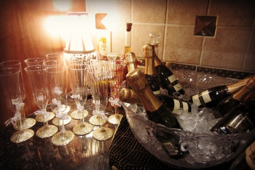 Bachelorette Party Champagne