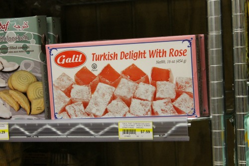 Turkish Delight ~ which Ella recognized from The Lion, The Witch and The Wardrobe