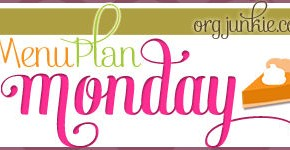Menu Plan Monday ~ November 3