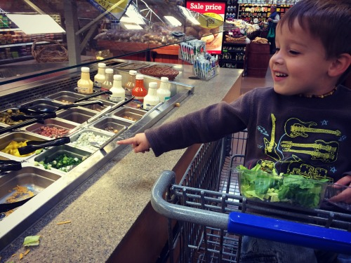 Salad Bar Kroger Henry
