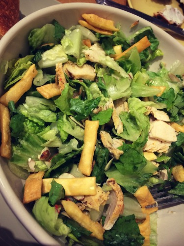 Salad Panera Asian Sesame Chicken