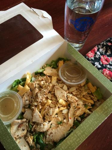 Seven Days of Salad Panera