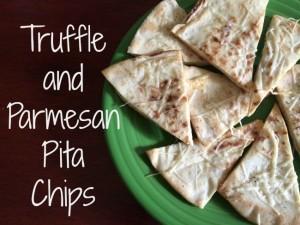 Truffle & Parmesan Pita Chips Recipe