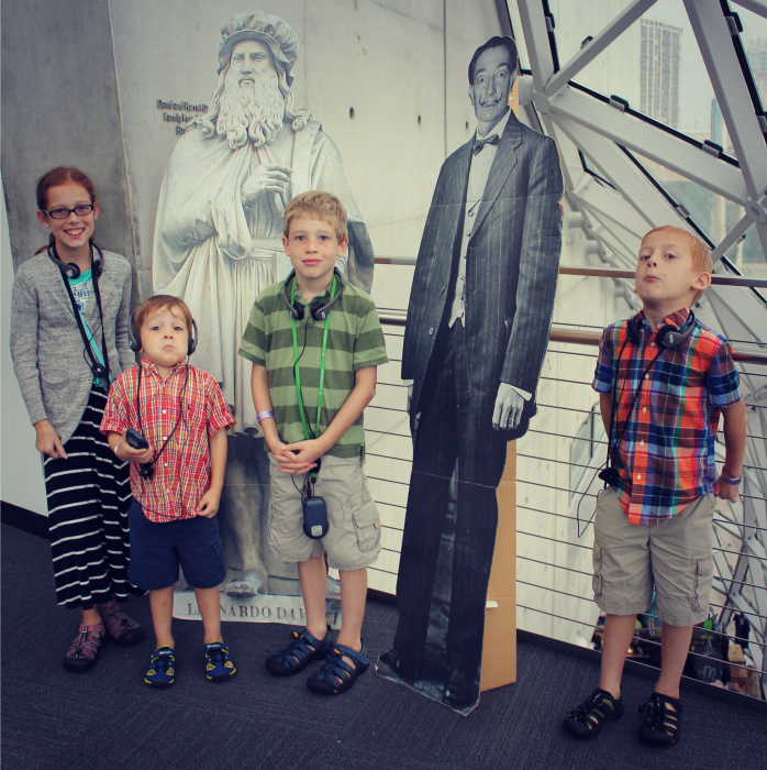 The Dali Museum kids
