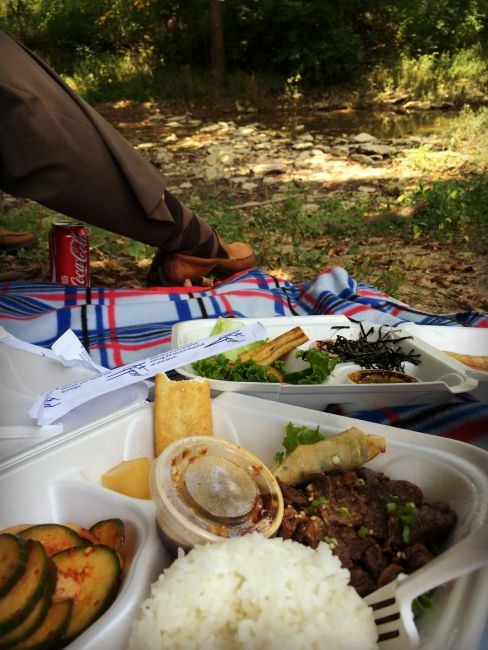 Wolsing Trails Riverside Korean Picnic