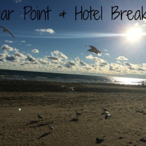 Sandusky:  Cedar Point and Hotel Breakers