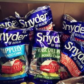 Snyder of Berlin Super Snack Giveaway