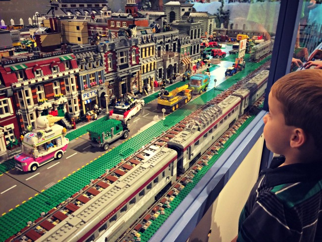 Holiday Junction LEGO Display