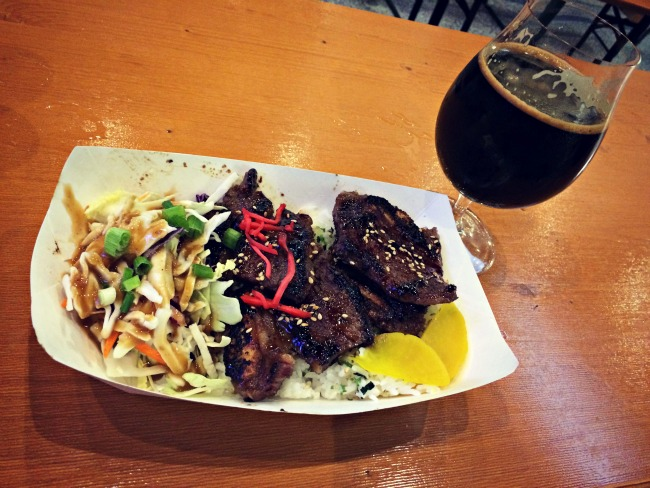 Remy's Oki Doki Dinner at Cigar City Brewing