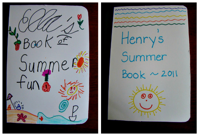 Summer Journals Covers