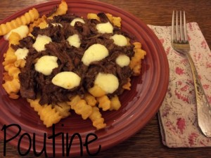 Slow Cooker Poutine Recipe