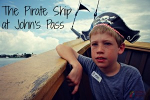 The Pirate Ship at John's Pass