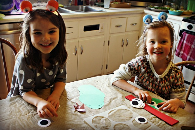 Frog Party Crafts