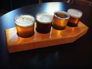 Mansfield Phoenix Brewing Company Flight