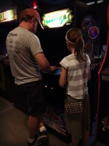 Arcade Legacy Father Daughter