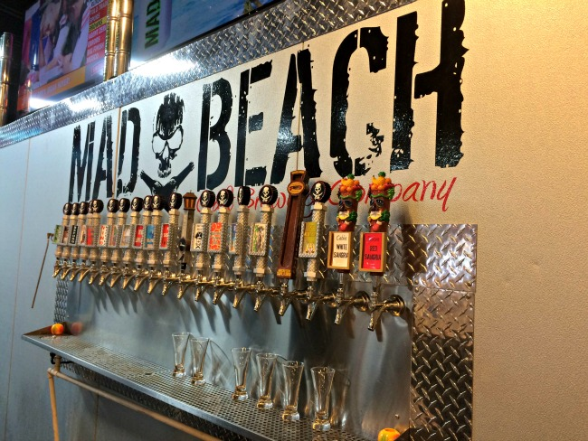 Mad Beach Brewing Taps