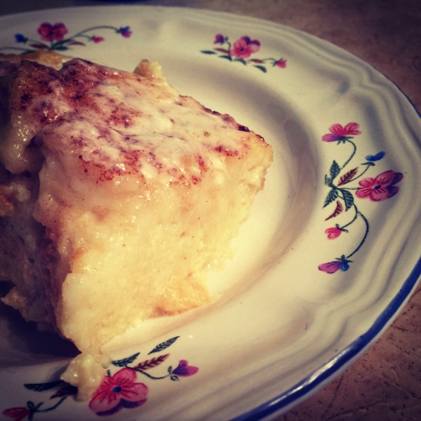 Tasting Kentucky Bread Pudding