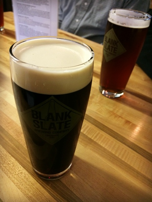 Blank Slate Brewing Company Pints