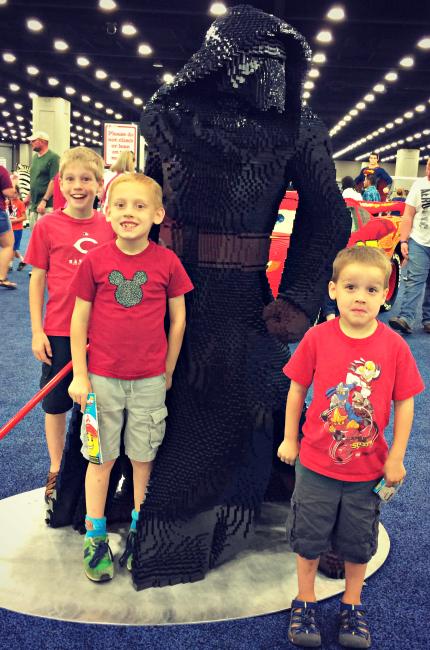 LEGO KidsFest  Kylo Ren
