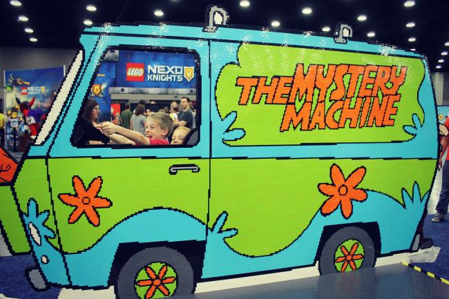 LEGO KidsFest Mystery Machine