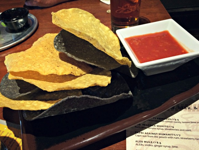 The Rook OTR Chips and Salsa