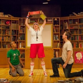 "The Cincinnati Shakespeare Company presents ""All the Great Books (abridged)"""