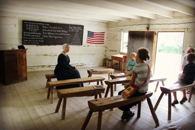 Conner Prairie School Room