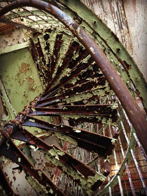 Ohio State Reformatory Under the Stairs