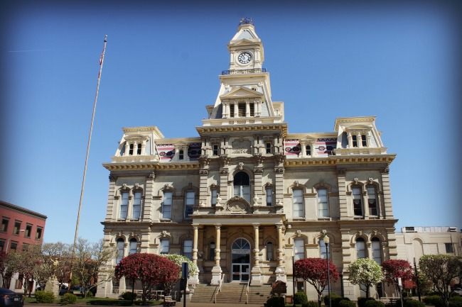 Zanesville Muskingum County Courthouse
