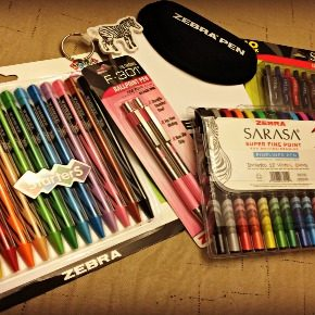 Zebra Pens {Review}